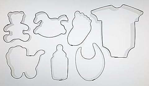 Cutting Designz Team Up... Newborn - theme cutter set (Wilton Kuchen Tin)