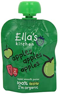Ella's Kitchen Stage 1 From 4 Months First Taste - Apples 70 g (Pack of 7) (B005I45E90) | Amazon price tracker / tracking, Amazon price history charts, Amazon price watches, Amazon price drop alerts