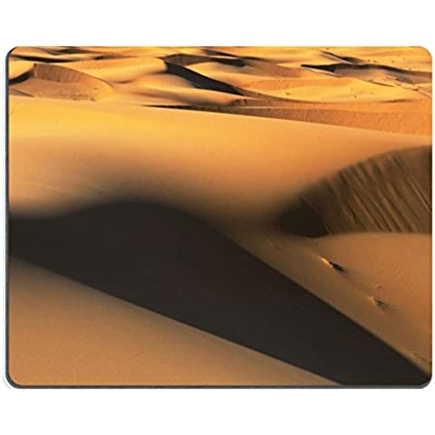 Luxlady in gomma naturale, motivo: Dune di sabbia da gioco Mousepads frame ID 27630031 immagine