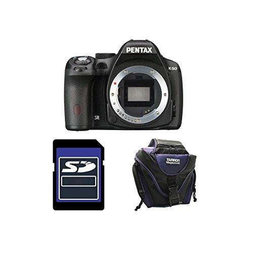 PENTAX K50 Noir Nu GARANTI 3 ans + Sac + Carte SD 4Go