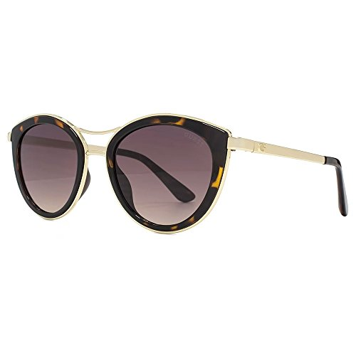 Guess - GU7490, Schmetterling, Acetat/Metall, Damenbrillen, HAVANA GOLD/BROWN SHADED(52F E),...