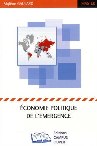 Economie politique de l'émergence