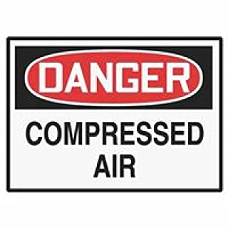 Accuform Signs Lchl149vsp Label Dgr Compressed Air 3.5x5 Adh Vnl 5/pk