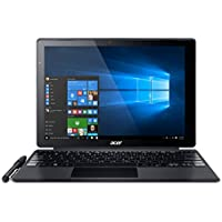 "Acer Switch Alpha SA5-271-30MS - Ordenador 2 en 1 de 12"" (Intel Core i3-6006U, 4 GB RAM, 128 GB SDD, Intel HD Graphics, Windows 10); Negro - Teclado QWERTY Español"