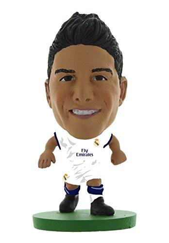 SoccerStarz soc812Real Madrid James Rodriguez 2017Version Home Kit