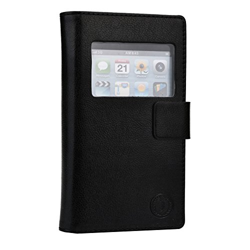 Jo Jo Cover Corbett Series Leather Flip Case For Sony Xperia M Dual Black  available at amazon for Rs.390