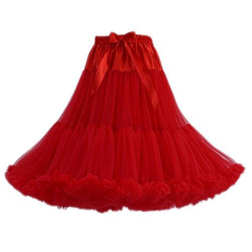FOLOBE Women's Tutu Kostüm Ballet Dance Multi-Layer-Puffy Rock Adult luxuriöse (Kostüme Womens Tutu)