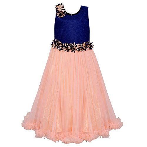 fd04f2cbb Wish Karo Baby Girls Party Wear Frock Dress DN (LFg1006sg) — pranzon