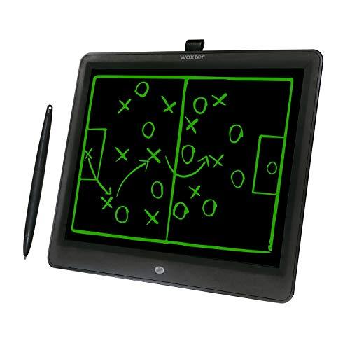 Woxter Smart Pad 150 Elektronisches Whiteboard, großes LCD-Display, abwischbar, 38,1 cm (15 Zoll), grüner Farbton, Drucksensor (10-200 g), Batterie CR2025 (X2), Schwarz -