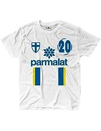 Camiseta camiseta fútbol Vintage Enrico Parma 20 Iglesia Temporada 97 – 98 Leggende, ...
