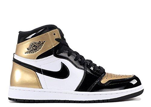 Jordan Black Sneaker Gold Retro OG Black Schuhe 1 High Metallic Air NRG Neu vFSqdvw