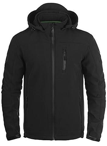 INDICODE Deegan Softshell Jacke, Größe:XL;Farbe:Black
