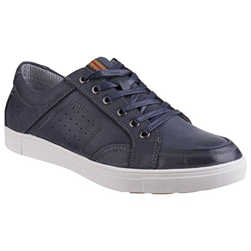 online retailer 09f00 f971a Up Leather Cotswold Trainers Mens Breathable Cheltenham Navy Lace 8wxgfqSxB