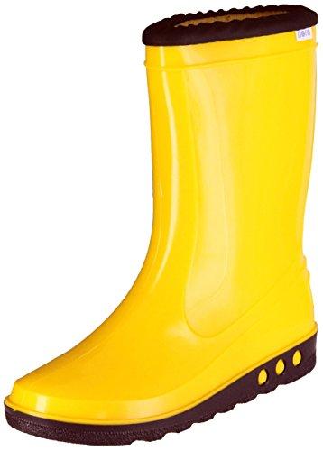Nora Gummistiefel Gelb Regenstiefel Kinder Stiefel Schuhe Nori Sun, Größe:24, Farbe:Gelb