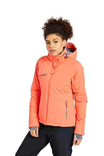 Zakti Womens Beat The Blizzard Ski Jacket Corallo