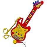 Guitar Musical Toy with Microphone (Color May Vary)