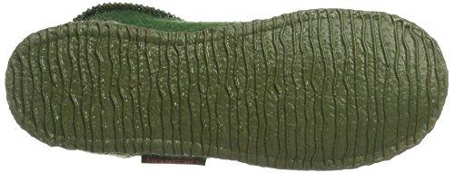 Giesswein Kramsach, Chaussons Montants Femme Vert (Avocado)