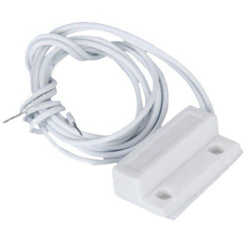sourcing map Sensor interruptor magn/ético alarma de seguridad montado con cable MC-28 para la puerta