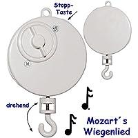 alles-meine.de GmbH Spieluhr - Wolfgang Amadeus Mozart - Wiegenlied - Lullaby - drehend & Zum .. preisvergleich bei kleinkindspielzeugpreise.eu