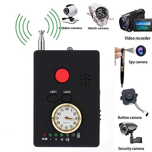 TANCEQI Multifunctional Full-Range RF Wireless Signal Radio Detector Hidden Camera Auto-détection Tracer...