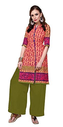 SD Fabrics Cotton Kurti (Unstitched) 2.5 Metre