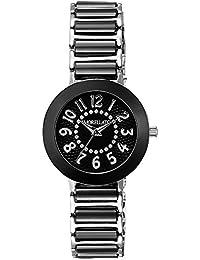 Morellato - R0153103502 - Firenze - Montre Femme - Quartz Analogique - Cadran Noir - Bracelet Céramique Noir