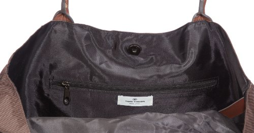 Tom Tailor Acc Miri 10725, Borsa a spalla donna, 39 x 33 x 18 cm (L x A x P) Marrone (Braun (Braun 29))