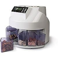 Safescan 1250 - Contadora y clasificadora de monedas para euro
