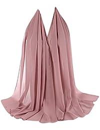 Cinnamou Sexy Femme Foulard en Viscose Maxi Crinkle Cloud Hijab Premium  Châle Soft Islam Muslim Etoles d769282f433