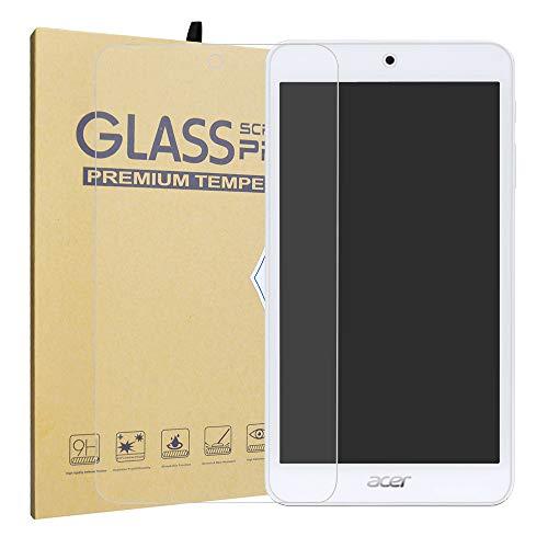 LiuShan Acer Iconia One 7 B1-7A0 Schutzfolie, [HIGH DEFINITON HD KLARHEIT] Nur 0.3mm Gehärtetes Glas Panzerglas Folie Schutzfolie Bildschirmschutz Folie für 7