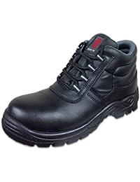 Warrior Workwear 0118mmb20/11Rahmengenähter Stiefel, Größe 11, Schwarz