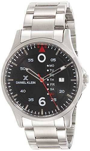 Daniel Klein Premium-Gents Analog Gunmetal Dial Men's Watch - DK11691-2
