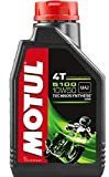 #8: Motul 5100 4T Technosynthese 10W-50 API SL/SJ/SH/SG Semi Synthetic Engine Oil for Bikes (1L)