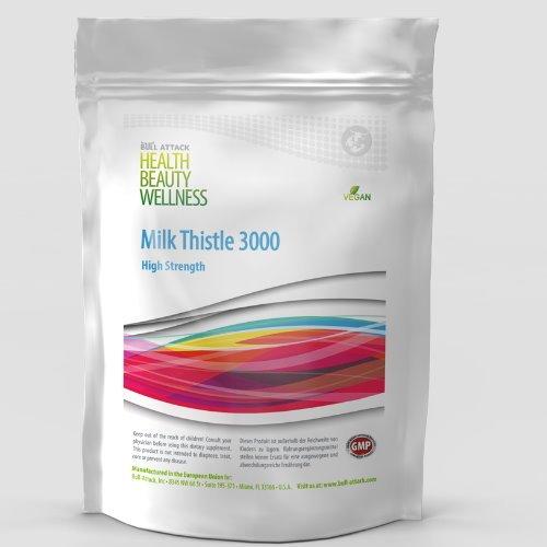 Milk Thiste | Mariendistel Extrakt 250 Tabletten (vegan) | 80% Silymarin | Leberschutz - Leberunterstützung - Entgiftung der Leber | Premium Qualität | Keine Kapseln
