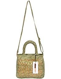 Intensekart Cut Work PU Handbag With Sling Strap