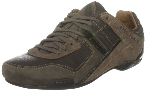 Diesel , Chaussures à lacets homme Turkish Coffee/Iron