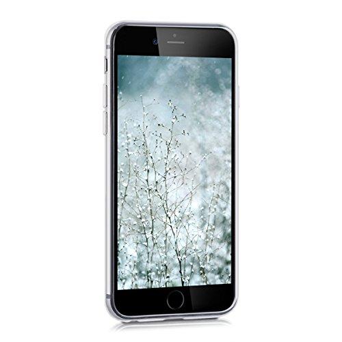 iPhone 6S Plus Hülle, iPhone 6 Plus Hülle, SpiritSun Transparent Schutzhülle für Apple iPhone 6 6S Plus (5.5 Zoll) PC Hart Handyhülle Extrem Dünne Bumper Cover mit Tribal Muster - Bunt Lotus Blume Z-Grün Lotus Blume
