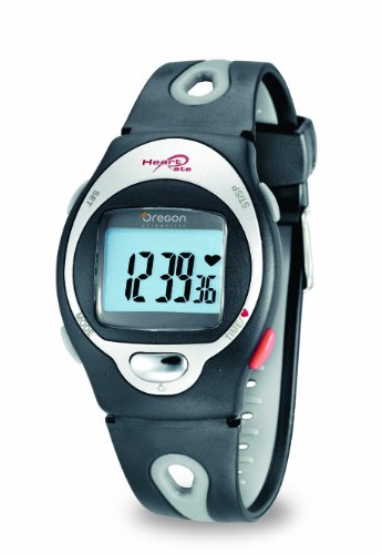 Oregon Scientific HR-102 - Reloj cardiofrecuencímetro, unisex, color negro