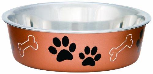 Loving-Pets-Metallic-Bella-Bowl-for-Pets-Small350-ml-Copper
