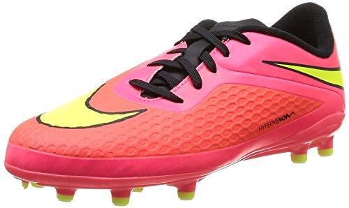 Nike 599062 690 Jr Hypervenom Phelon Fg Jungen Sportschuhe - Fußball brght crmsn/vlt-hypr pnch-blck
