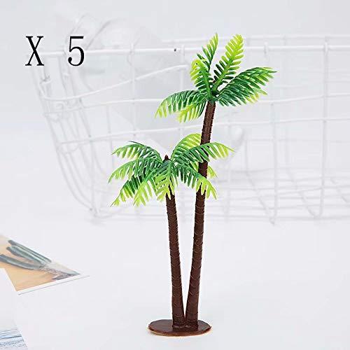 Simulation Anlage Mini Kokosnuss Sand Platte Sondermodell 13 cm kleine Kokospalme Aquarium Landschaftsbau Ornamente - Hg Platten