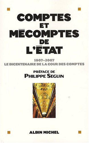 Comptes Et Mecomptes de L'Etat (Documents Societe) par Collective