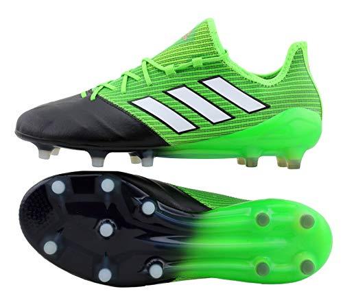 adidas Herren Ace 17.1 Leather Fg für für Fußballtrainingsschuhe, Grün (Verde Versol/ftwbla/Negbas), 45 EU