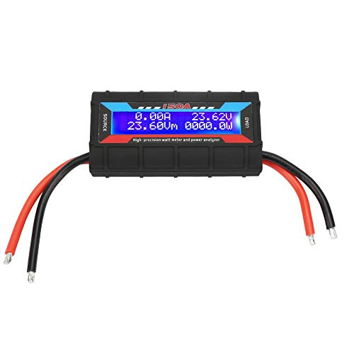 VGEBY1 Power Analyzer, Hochpräzises Wattmeter Power RC Wattmeter mit LCD-Hintergrundbeleuchtung