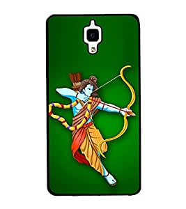 Bhagwan Ram 2D Hard Polycarbonate Designer Back Case Cover for Xiaomi Redmi Mi 4 :: Redmi Mi 4