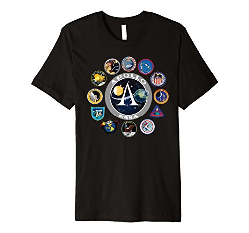 NASA Programm Shirt Project Apollo Mission Patch Sweatshirt - Patch-pullover