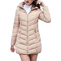 VENMO Mode Frauen Jacke Lange dick warm Daunenjacke Slim Fit Mantel  ultraleichte steppjacke Winterjacke Übergangs Jacke d4130a7332