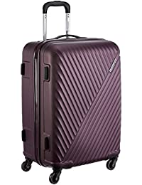 American Tourister Skyrock ABS 65 cms Purple Hardsided Check-in Luggage (AMT SKYROCK SP 65 cm Purple)
