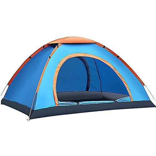 YOOFINE Campingzelt Wurfzelt 3-4 Personen Wasserdichtes Pop up Zelt Ultraleicht mit Tragetasche für Strand, Outdoor, Reisen, Wandern, Camping, Jagd, Angeln, Etc.