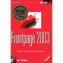 Frontpage 2003, m. CD-ROM
